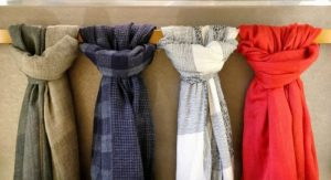 Wardrobe Storage Solutions - hanging scarfs - Harrison Kitchens and Cabinets Adelaide